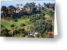 Bankers Hill San Diego Greeting Card by Russ Harris