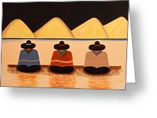 Banus Greeting Card by Damaris Munoz Arias