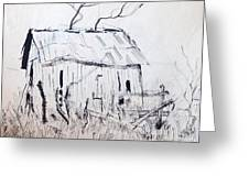 Barn 1 Greeting Card by Rod Ismay