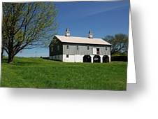 Barn In The Country - Bayonet Farm Greeting Card by Angie Tirado