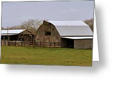 Barn in the Ozarks Greeting Card by Marty Koch