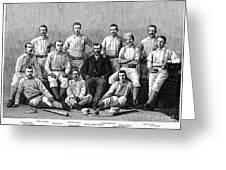 Baseball: Providence, 1882 Greeting Card by Granger