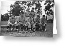 Baseball Team, 1938 Greeting Card by Granger