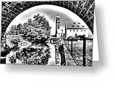 Basilika St. Martin Greeting Card by Juergen Weiss