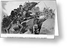 Battle Of Churubusco, 1847 Greeting Card by Granger