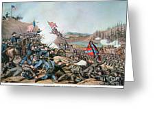 Battle Of Franklin, 1864 Greeting Card by Granger