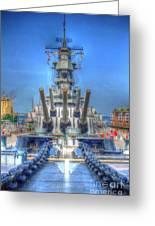 Battleship Greeting Card by Dan Stone