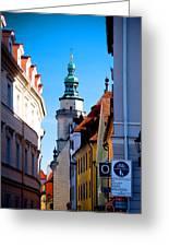 Bavarian Corridor  Greeting Card by Anthony Citro