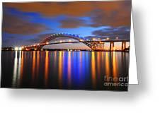 Bayonne Bridge Greeting Card by Paul Ward