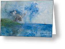 Be Still And Know Greeting Card by Barbara McNeil