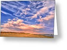 Beach At Sullivan's Island Greeting Card by Dominic Piperata