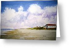 Beach Cottages Greeting Card by Shirley Braithwaite Hunt