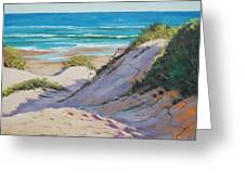 Beach Dunes Greeting Card by Graham Gercken