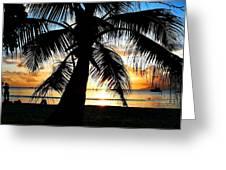 Beach Greeting Card by Jenny Senra Pampin