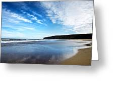 Beach Greeting Card by Svetlana Sewell