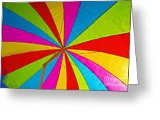 Beach Umbrella Greeting Card by David Lee Thompson