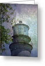 Beacon Of Hope Greeting Card by Judy Hall-Folde