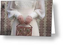 beaded handbag Greeting Card by Joana Kruse