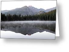 Bear Lake Greeting Card by David Yunker