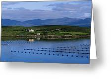 Beara, Co Cork, Ireland Mussel Farm Greeting Card by The Irish Image Collection