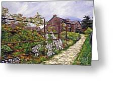 Beatrix Potter House Greeting Card by David Lloyd Glover