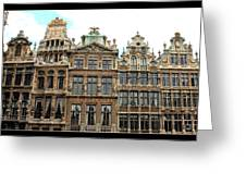 Beautiful Belgian Buildings - Digital Art Greeting Card by Carol Groenen
