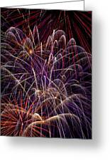 Beautiful Fireworks Greeting Card by Garry Gay