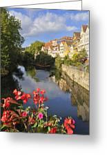 Beautiful Tuebingen In Germany Greeting Card by Matthias Hauser
