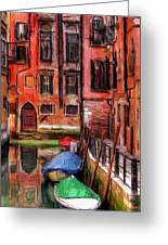 Beautiful Venice Greeting Card by Stefan Kuhn