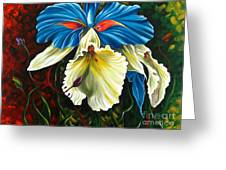 Beauty Of Blossom 2 Greeting Card by Uma Devi