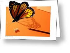 Becoming Free  Greeting Card by Crispin  Delgado