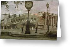 Bedford Town Center  Greeting Card by Christopher  Ward