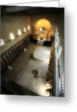 Beit Jamal Monastery 3 Greeting Card by Isaac Silman