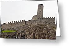 Bellinzona - Ticino Greeting Card by Joana Kruse