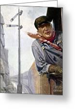 Beneker: The Engineer, 1913 Greeting Card by Granger