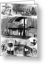 Bessemer Steel, 1876 Greeting Card by Granger