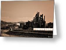 Bethlehem Steel Greeting Card by Bill Cannon