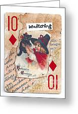 Bewitching Greeting Card by Ruby Cross