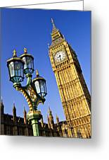 Big Ben And Palace Of Westminster Greeting Card by Elena Elisseeva
