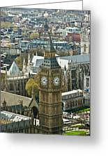 Big Ben Up Close Greeting Card by Douglas Barnett
