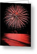 Big Red Greeting Card by Bill Pevlor