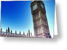 #bigben #uk #england #london2012 Greeting Card by Abdelrahman Alawwad