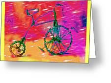 Bike 1a Greeting Card by Mauro Celotti