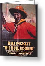 Bill Pickett (1870-1932) Greeting Card by Granger