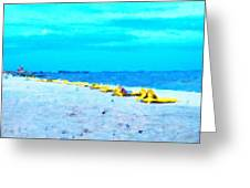 Biloxi Beach Greeting Card by Scott Crump