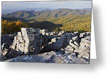 Black Rock Mountain Shenandoah National Park Greeting Card by Pierre Leclerc Photography