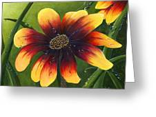 Blanket Flower Greeting Card by Trister Hosang