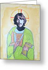 Blessed George Greeting Card by Philip Atkinson