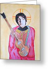 Blessed Paul Greeting Card by Philip Atkinson