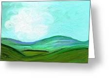 Blue Ridge Greeting Card by Connie Kottmann